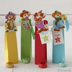 Case clamps clowns stdo. 2 torinos,min.4 Q. SWEET