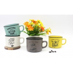 "TAZAS PARA BODAS ""TIME FOR COFFEE"""