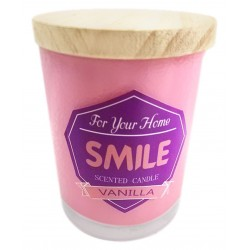 "VELAS CON FRASES ""FOR HOME"""