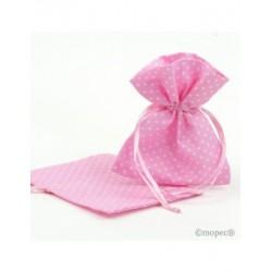 Bolsa topitos rosa 10x12cm. min.24