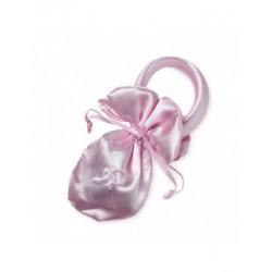 Bolsita chupete rosa, 15,5cm. min.24 P.GOLOSO