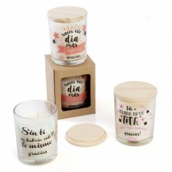 CANDLES WITH PHRASES OF APPRECIATION