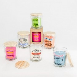 CANDLES WITH PHRASES PARTY